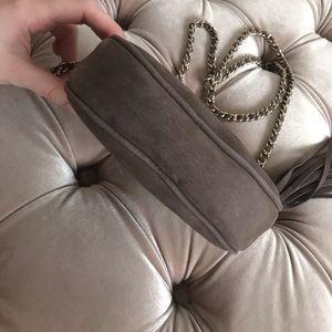 Gucci Bags - Gucci mini soho chain bag grey crossbody